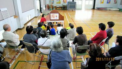 いのちのパネル展in天応小学校文化祭